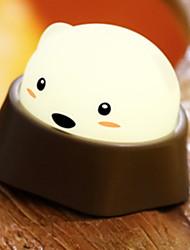 זול -1pc LED לילה אור לבן חם USB חמוד / יצירתי <=36 V