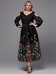 Tea Length Plus Size Wedding Dresses - Lightinthebox.com