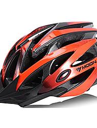 Недорогие -MOON Взрослые Мотоциклетный шлем 21 Вентиляционные клапаны CE Ударопрочный Легкий вес Вентиляция прибыль на акцию ПК Виды спорта Горный велосипед Шоссейные велосипеды Велосипедный спорт / Велоспорт