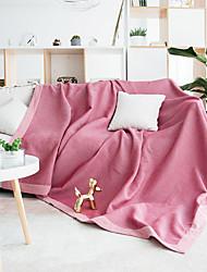 abordables -El amortiguador del sofá Un Color / Plantas / Contemporáneo Jacquard 100% Algodón Fundas