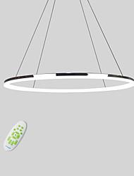 Недорогие -Lightinthebox Круглый Подвесные лампы Потолочный светильник Электропокрытие Металл Акрил Мини, LED 110-120Вольт / 220-240Вольт Теплый белый / Холодный белый / Диммируемый с дистанционным управлением