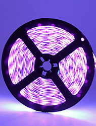 cheap -ZDM® 5m Flexible LED Light Strips 300 LEDs SMD3528 UV (Blacklight) Waterproof / Cuttable / Party 12 V 1pc