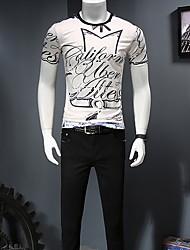 economico -t-shirt da uomo - girocollo geometrico