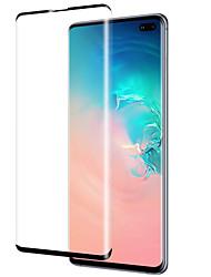 Недорогие -Samsung GalaxyScreen ProtectorGalaxy S10 Уровень защиты 9H Защитная пленка на всё устройство 1 ед. Закаленное стекло
