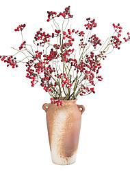 Недорогие -Искусственные Цветы 2 Филиал Классический европейский Простой стиль Фрукты Вечные цветы Букеты на стол