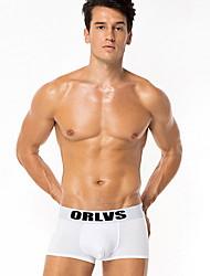 preiswerte -Herren-Boxershorts aus Baumwolle - Druck in der Mitte der Taille