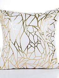 abordables -1 pcs Coton / Lin Housse de coussin, Rayé Décoration artistique Style artistique Moderne