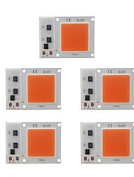Недорогие -5шт 20w diy светодиодные початки чип завод растут свет для посева цветов ac180-265v