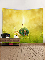 cheap -Novelty Wall Decor 100% Polyester Contemporary Wall Art, Wall Tapestries Decoration