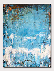 cheap -Oil Painting Hand Painted - Abstract Classic Modern Rolled Canvas