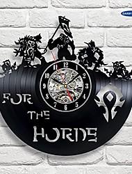 Недорогие -Мир Warcraft вау подарок виниловые настенные часы