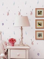 Χαμηλού Κόστους -Παντόφλες Nonwoven Κάλυψης τοίχων - κόλλα που απαιτείται Art Deco / 3D