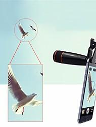 Недорогие -Объектив для мобильного телефона Длиннофокусный объектив стекло / Пластиковые & Металл / ABS + PC Макрос 12X 30 mm 3 m 16 ° Творчество / Новый дизайн / Cool