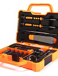 Недорогие -JAKEMY Портативные Инструменты 47 в 1 Ящики для инструментов Наборы инструментов Домашний ремонт Ремонт Apple Samsung для ремонта компьютеров