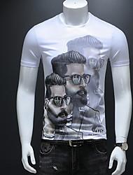 preiswerte -Herrn Porträt T-shirt