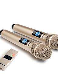 Недорогие -беспроводной микрофон usb 3.5 мм 6.35 мм мегафон ручной микрофон с ресивером для караоке речевого громкоговорителя
