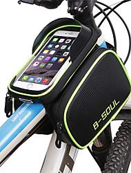 Недорогие -B-SOUL Сотовый телефон сумка 6.2 дюймовый Компактность Велоспорт для Велосипедный спорт / iPhone X / iPhone XR Синий