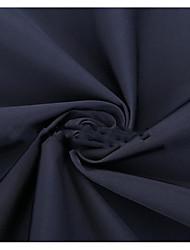 Недорогие -Сатин / атлас Однотонный Неэластичный 140 cm ширина ткань для Одежда и мода продано посредством метр