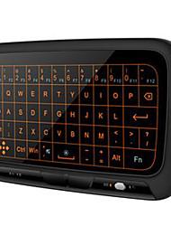 Недорогие -H18S+2.4G背光版多功能智能飞鼠全键盘遥控器适用安卓盒子智能电视电脑投影仪 Air Mouse / Клавиатура / Дистанционное управление Мини 2,4 ГГц беспроводной Air Mouse / Клавиатура / Дистанционное управление Pico Назначение Android 4.0