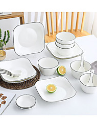 cheap -12-Piece Serving Dishes Dinnerware Porcelain New Design Creative