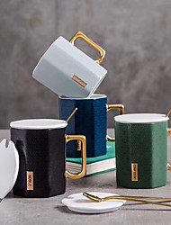 זול -drinkware ספלים & כוסות חַרְסִינָה מתנת חבר יום יומי\קז'ואל