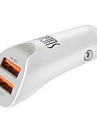 abordables -Coche Cargador de Coche 2 Puertos USB para 5 V