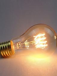 abordables -1pc 60 W E26 / E27 Jaune corps Transparent Ampoule incandescente Edison Vintage 220-240 V