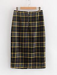 cheap -women's midi pencil skirts - striped