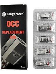 billige -MACAW Subox Occ Coil 5 stk Atomizer-kjerner vape  Elektronisk sigarett for Voksen