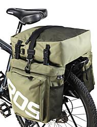 Недорогие -ROSWHEEL 35 L Сумка на багажник велосипеда / Сумка на бока багажника велосипеда 3 В 1 Регулируется Большая вместимость Велосумка/бардачок Кожа PU 600D полиэстер Велосумка/бардачок Велосумка