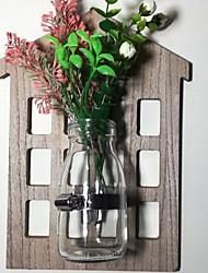 저렴한 -인공 꽃 0 분기 벽 설치 현대 현대 꽃병 벽 걸이 플라워