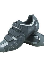 abordables -SIDEBIKE Adulte Chaussures Vélo / Chaussures de Cyclisme Antidérapant Ventilation Ultra léger (UL) Cyclisme sur Route Cyclisme / Vélo Gris Homme Femme Chaussures Vélo / Chaussures de Cyclisme