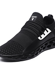 cheap -Men's Comfort Shoes Microfiber / Tissage Volant Spring & Summer / Fall & Winter Athletic Shoes Black / Gray / Red