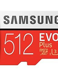 Недорогие -SAMSUNG 512GB Карточка TF Micro SD карты карта памяти Class10 U3 4K EVO plus