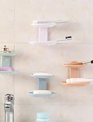 Χαμηλού Κόστους -Πιάτα Σαπούνι & Κάτοχοι Λατρευτός / Απίθανο / Lovely Μοντέρνα Πλαστικά / PVC 1pc - Μπάνιο Επιτοίχιες
