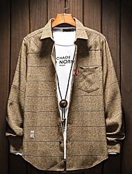 billiga -herrskjorta - plädskjorta