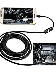 Недорогие -7 мм USB эндоскоп 10 м жесткий кабель водонепроницаемый ip67 осмотр бороскоп змея камера для андроид
