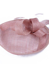 Недорогие -Жен. / Дамы Винтаж / Для вечеринки / Элегантный стиль Чародей Перья / Ткань, Цветочный принт / Диадемы