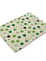 levne -Moderní Netkané textilie Obdélníkový Prostírání Geometrický Šetrný vůči životnímu prostředí Stolní dekorace 1 pcs