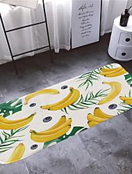 abordables -1pc Rustique Tapis Anti-Dérapants Corail Velve A Fleur 5mm Salle de Bain Design nouveau / Facile à nettoyer