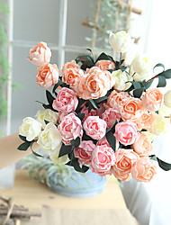 رخيصةأون -زهور اصطناعية 1 فرع فردي الحديث المعاصر Wedding Flowers الورود أزهار الطاولة
