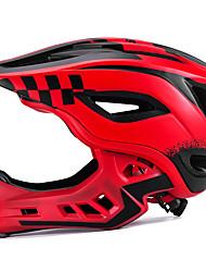 Недорогие -ROCKBROS Детские Мотоциклетный шлем BMX Шлем 12 Вентиляционные клапаны Съемный козырек Вентиляция Сетка от насекомых ESP+PC Виды спорта Велосипедный спорт / Велоспорт -