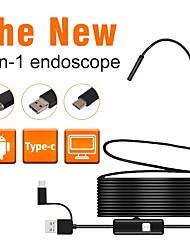 abordables -7 mm lentille Endoscope Industriel -  --  7 1 cm Longueur de travail 3 en 1 Inspection de réparation automobile