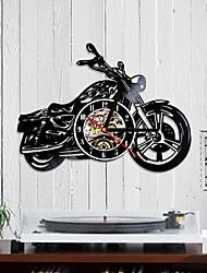 Недорогие -виниловые пластинки часы мотоцикл харли вентилятор подарок