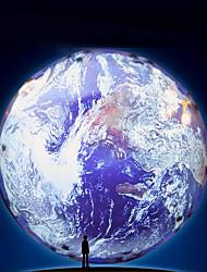 abordables -1pc Globe Sky Projector Light Coloré Piles AA alimentées / USB Pour les enfants / avec Câble USB / Lumières de photographie 12 V