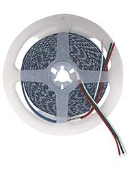 abordables -BRELONG® 5m Bandes Lumineuses LED Flexibles 600 LED Blanc Chaud / Blanc Découpable / Décorative / Connectible 12 V 1pc