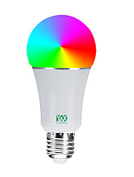 Недорогие -ywxlight®1pc 7w 600-700lm rgbw support alexa google home app пульт дистанционного управления беспроводной wifi умная лампочка переменного тока 85-265 В