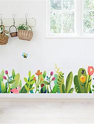 povoljno -svježe cvijeće i biljke lajsne zidne naljepnice dnevni boravak hodnik kutne dekoracije spavaonica izgled samoljepive linije naljepnica
