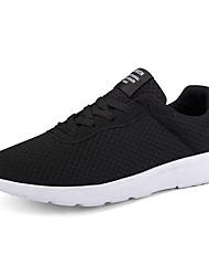 رخيصةأون -رجالي أحذية الراحة شبكة للربيع والصيف رياضي / كلاسيكي أحذية رياضية الركض متنفس أسود / رمادي / أزرق