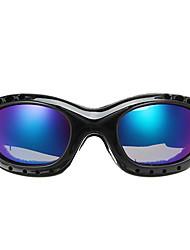 Недорогие -Универсальные Очки для мотоциклов Спорт С защитой от ветра / Противо-туманное покрытие / Защита от пыли ПК / микрофибры Губка